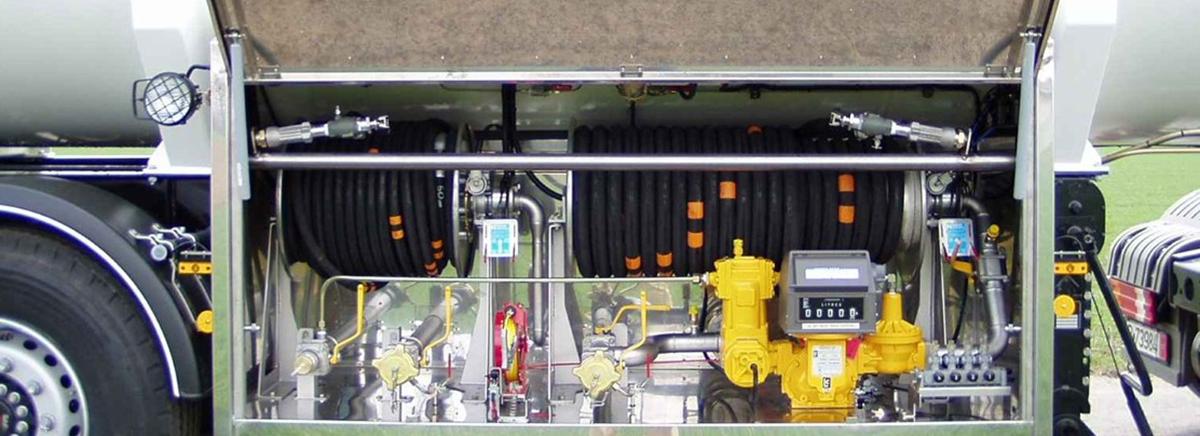 Оборудване за автоцистерни / Tank trucks equipment